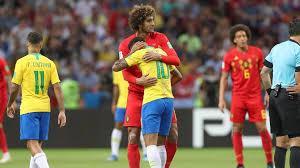 Fellaini Neymar Belgique Brésil